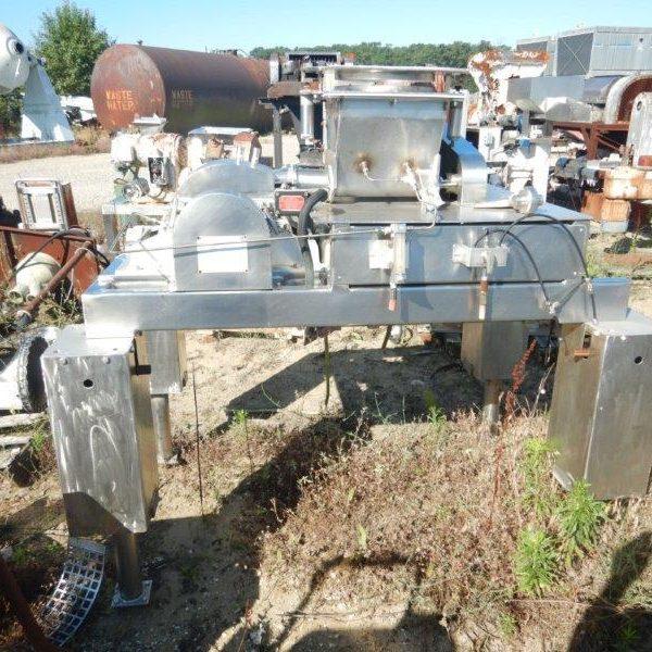 10 HP Fitzmill Model DAS06 Comminuting Machine