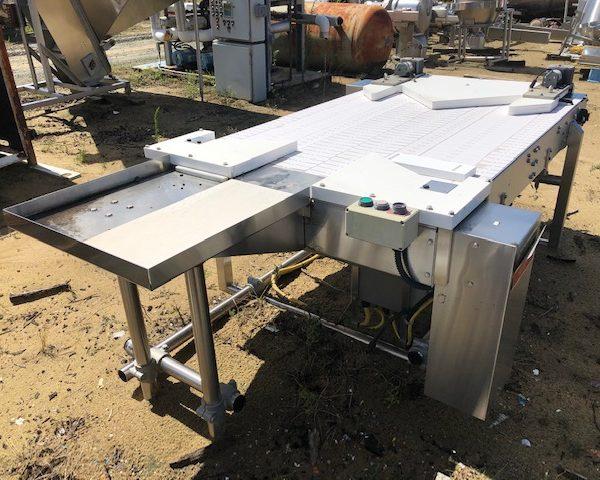 41″ Wide x 72″ Long FP Development Bi-Flow Conveyor