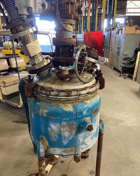20 Gallon 150 PSI Internal, 100 PSI Jacket 316L Stainless Steel Reactor