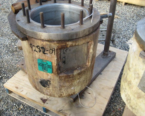 5 Gallon 150 PSI Internal, 100 PSI Jacket 316 Stainless Steel Reactor