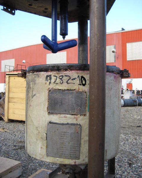 5 Gallon 150 FV Internal, 100 Jacket Ceramic Coatings Glass Lined Reactor