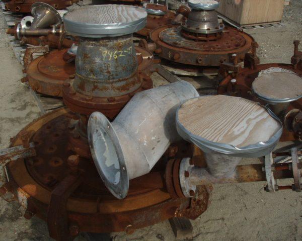 8000 CFM Sturtevant Carbon Steel Steam Micronizer Fluid Energy Grinding Mill