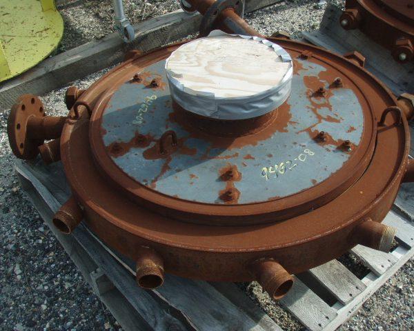 4000 CFM Sturtevant Carbon Steel Steam Micronizer Fluid Energy Grinding Mill