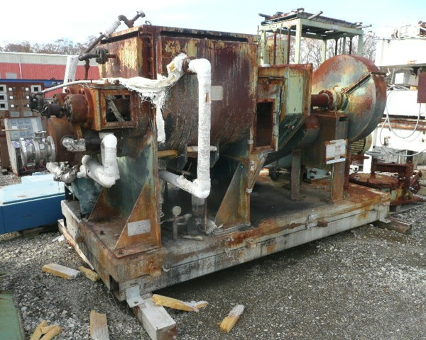100 Gallon Day Steel Jacketed Mixtruder