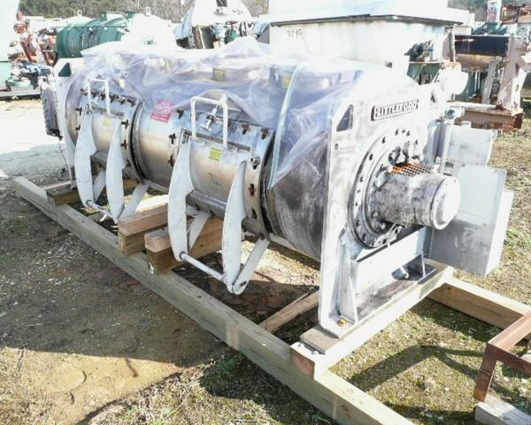 1200 Liter Littleford Model FKM1200D Stainless Steel Mixer