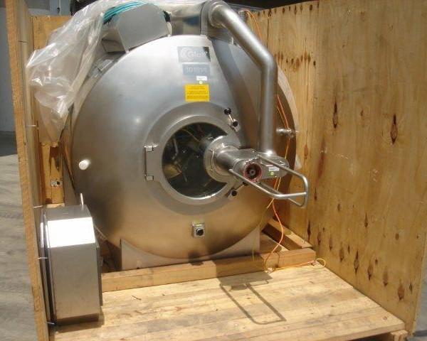 1000mm Dia Glatt Stainless Steel Coating Pan