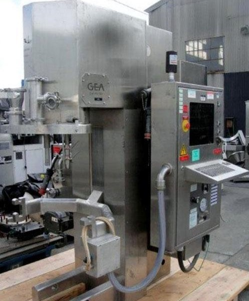 75 Liter GEA Collette Mdl Gral 75 Stainless Steel High Shear Mixer