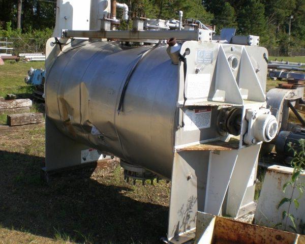 1275 Liter American Processor Model CO45/5608 Stainless Steel Plow Mixer