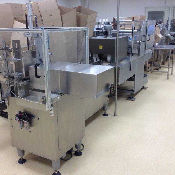 Vanguard VHZ-20B Semi-Automatic Carton Box Packing Machine