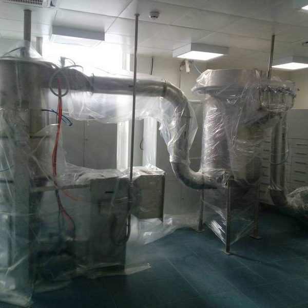 CPE&M Model B-5 Fluid Bed Dryer Granulator