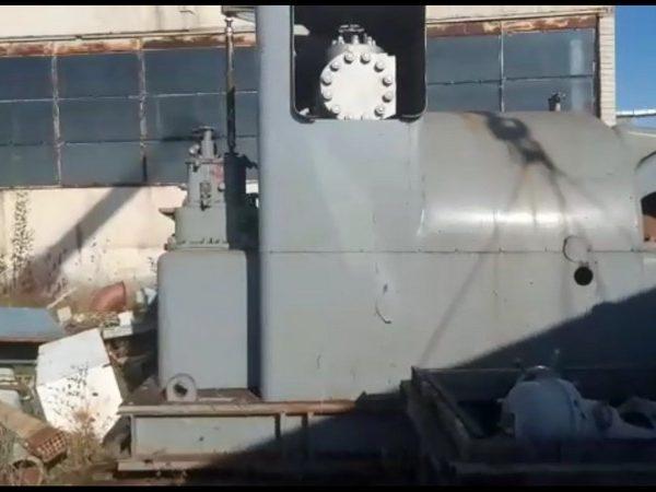 Unused back pressure steam turbine generator 6000 KW