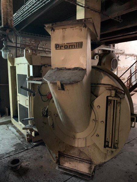 Used pellet mill by Promill
