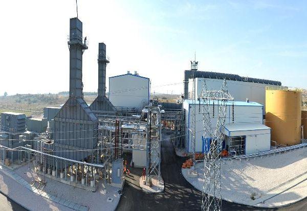 Used GE gas turbine with the capacity 30000 KW