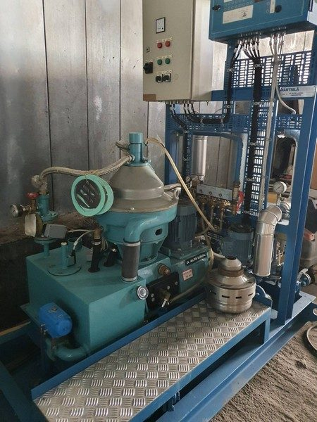 Alfa Laval MMPX 303 Stainless Steel Disc Separator