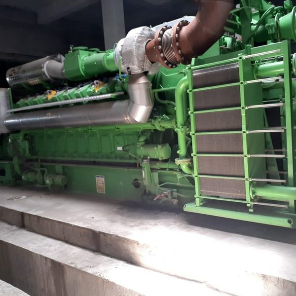 Unused syngas engine generator Jenbacher type JMS320GS-SL