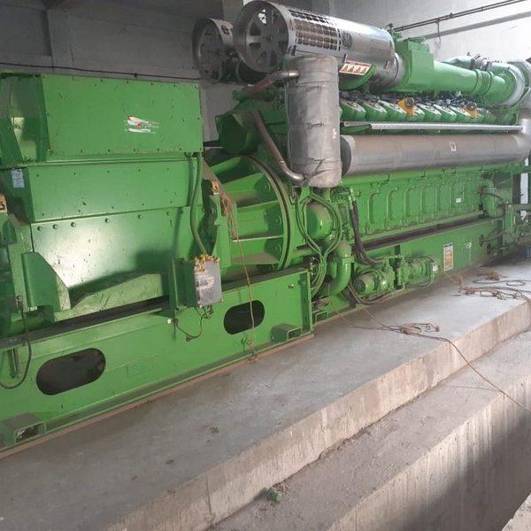 Unused syngas engine generator Jenbacher type JMS620GS-SL