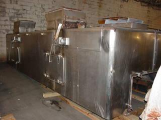 48″ X 20′ Wolverine Proctor Jetzone Stainless Steel Fluidized Bed Dryer