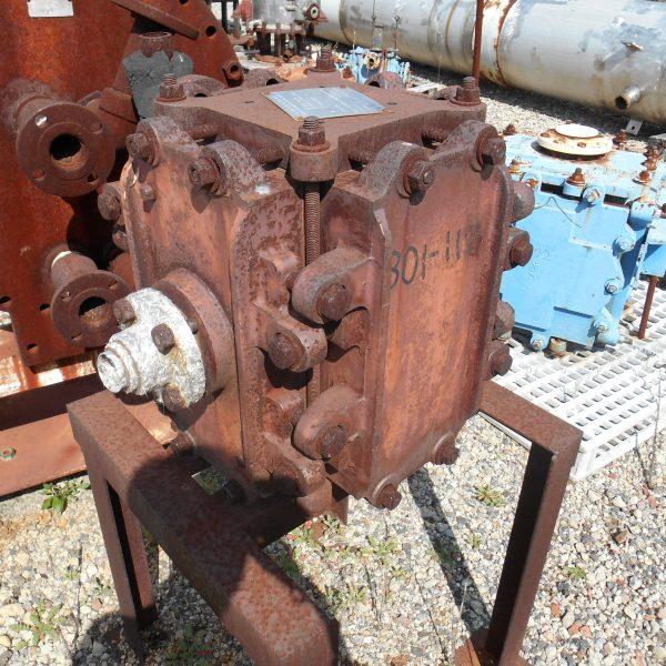 9″ x 9″ x 18″ High Kearney Karbate Block Heat Exchanger
