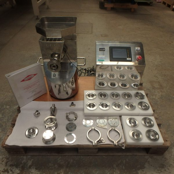 Fuji Paudal Model MG-55 Stainless Steel Multi Granulator/Extruder