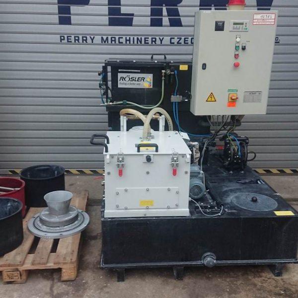 Rösler Z 800 K HA Turbo-Floc Process Water Recycling System