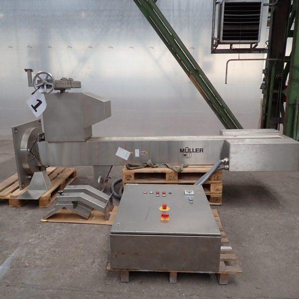 Muller Model FTHSM 301 Stainless Steel Drum Lifter/Blender
