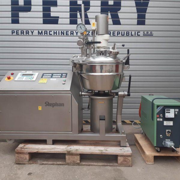40 Litre Stephan Model UMC 44 E Stainless Steel Hi-Intensity Mixer