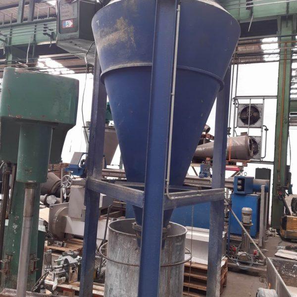 1,000 Litre Pharming  Model HV 1000 304 Stainless Steel Conical Mixer