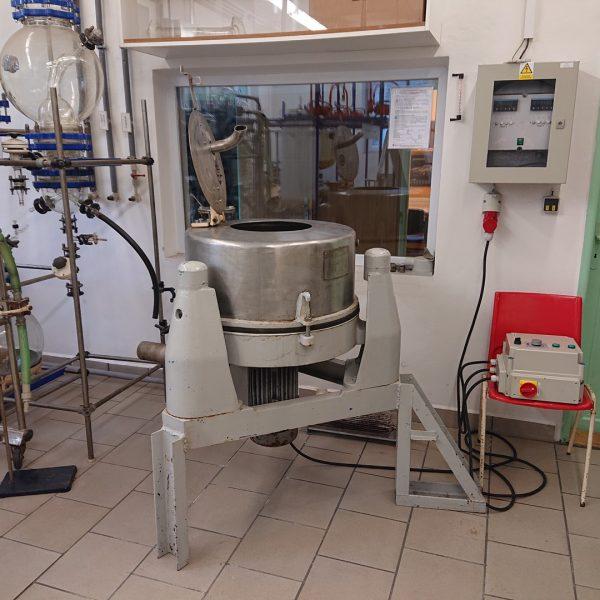 20″ X 10″ ZVU (Czech) Stainless Steel Basket Centrifuge