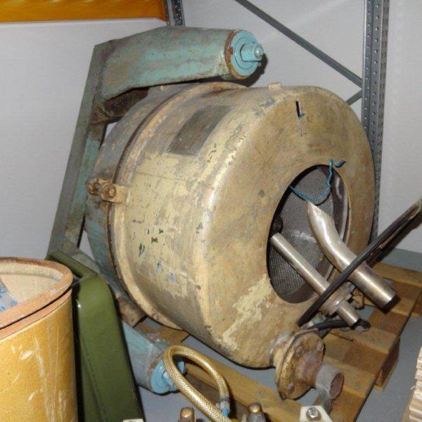20″ X 10″ ZVU (Czech) Stainless Steel Perforated Basket Centrifuge