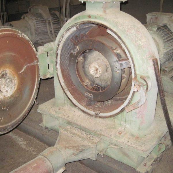 75 kW Carbon Steel Hammer Mill Grinder TMS MK 60 M