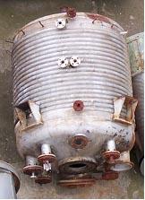 6,950 Litre, 6 Bar Internal, 6 Bar Jacket, Stainless Steel Reactor