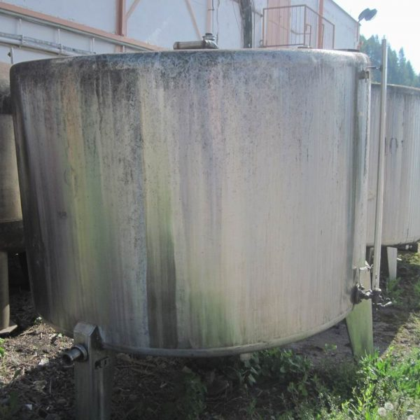 4000 Litres Stainless Steel Vertical Vessel