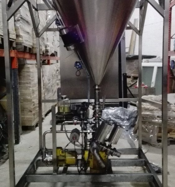 5.5 kW Ytron Mdl ZC 5.50FC Powder Disperser