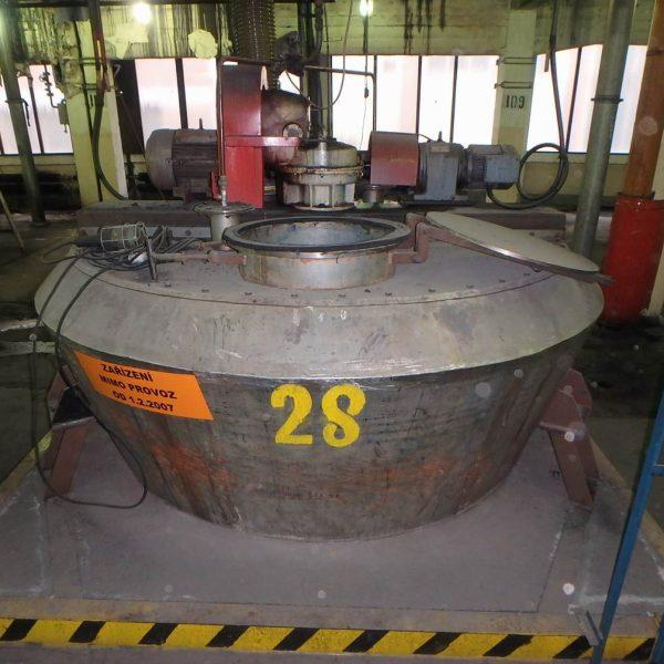 3,600 Litre Nautamix MBC 40 R Stainless Steel Conical Powder Mixer