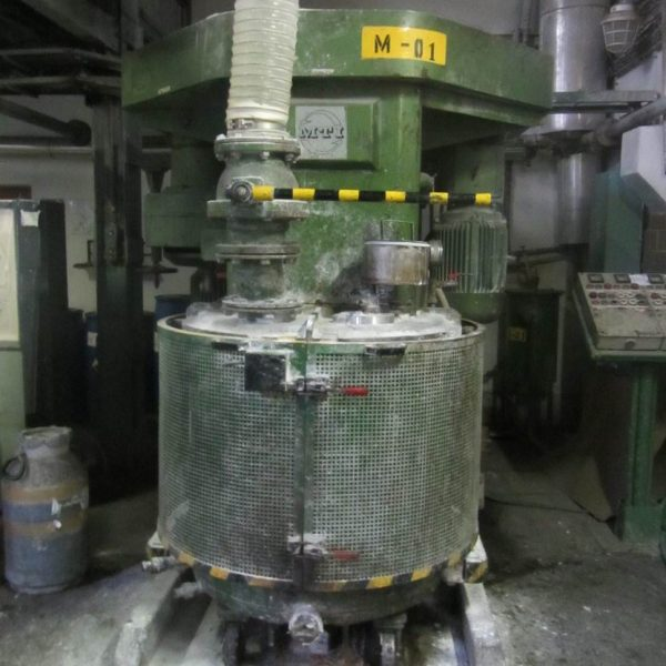 82.0 kW MTI Model P-Z9-630-ADD High Viscosity Mixer