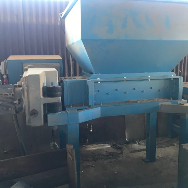 30 HP Jelinek Twin Shaft  Shredder