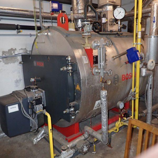 660 kg/hour 10 bar Bosch Model U-HD 800 x 10 Steam Boiler