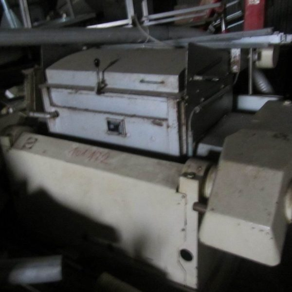 Used Nagema type DMK200/02 sigma blade double arm mixer for 200 litre