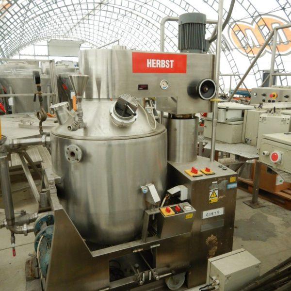 300 Litre Herbst Model HRV300 H Stainless Steel Vacuum Planetary Mixer