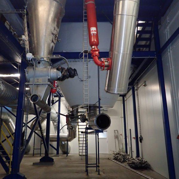13'9″ X 17'5″ Niro Atomizer Stainless Steel Spray Dryer