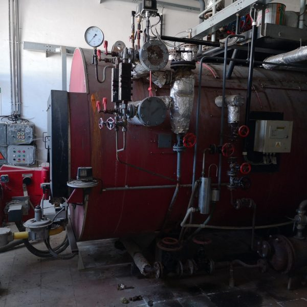 2500 kg/hour 11 bar Roučka Slatina Model VSK 2,5-1 Steam Boiler With Oil Burner