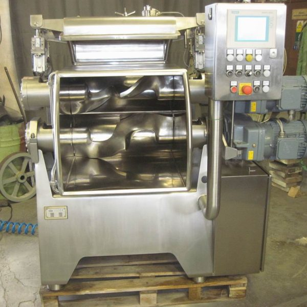 125 Litre Stainless Steel Sigma Blade Double Arm Mixer