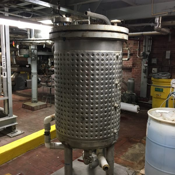 141 Gallon 100 PSI Internal, 150 PSI Jacket Stainless Steel Reactor Body