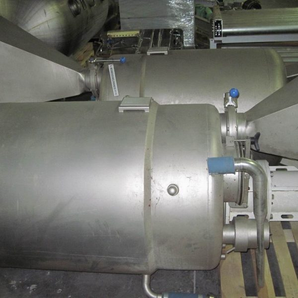 500 Litre Stainless Steel Vertical Mixing Tank