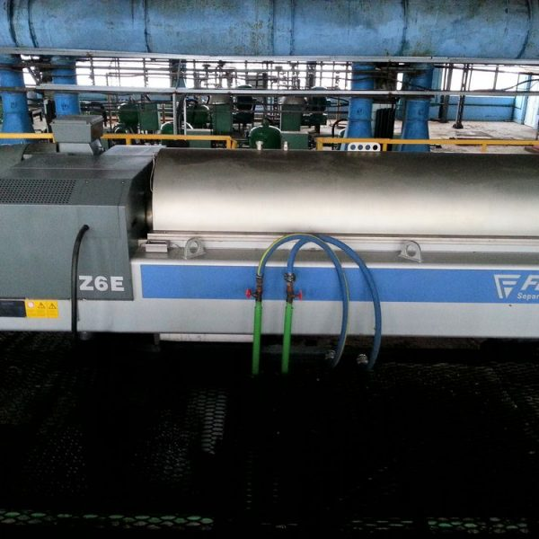 Flottweg Z6E-4/454 620mm Dia x 2580mm Long Horizontal Stainless Steel Decanter Centrifuge