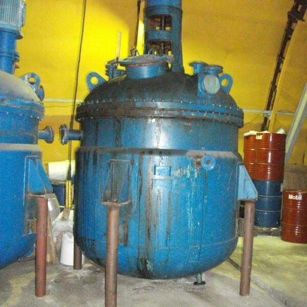 5,000 Litre, 6 Bar Internal, 4 Bar Jacket, 321 Stainless Steel Vertical Reactor