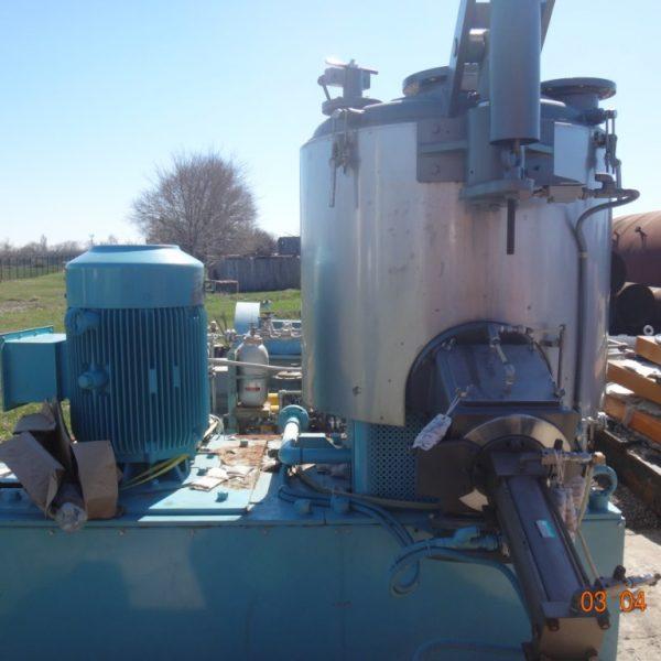 1000 Liter Mitsui Model FM1000J Stainless Steel High Intensity Mixer