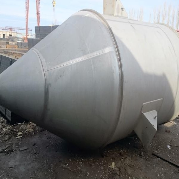 353 Cubic Foot  Websters Stainless Steel Vertical Weigh Silos