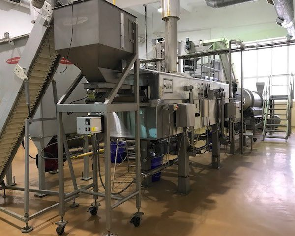 Food Pellet Frying Line 800 Kg/Hr