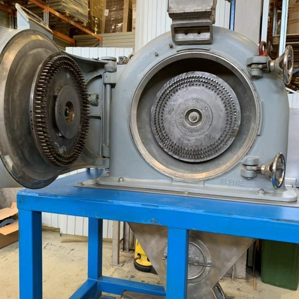 Alpine Model A400CW Contraplex Carbon Steel Pin Mill